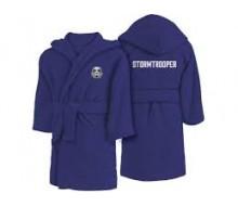 Badjas met kap (10-12 jaar) + handdoek Star Wars Stormtrooper