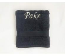 Handdoek (50 cm x 100 cm) De Witte Lietaer kleur ebony