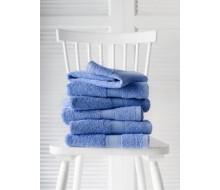 Handdoek (50 cm x 100 cm) De Witte Lietaer kleur marina