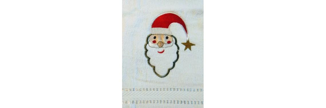 Handdoek kerstman