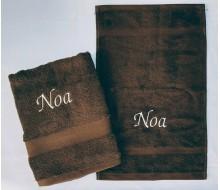 2-delige Handdoeken(zwem)set Jules Clarysse Talis bruin