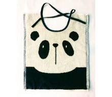 Slabbetje met lintjes Clarysse panda