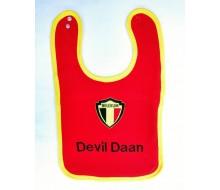 Slabbetje met logo 'Belgium'