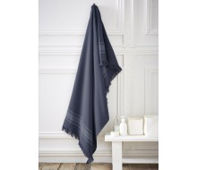 Strandlaken / Fouta blauw 190 cm x 100 cm