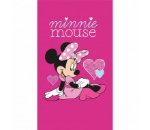 Strandlaken Minnie Mouse HEART