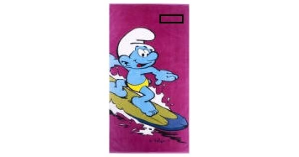 Strandlaken Smurf Surf