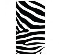 Strandlaken met zebraprint