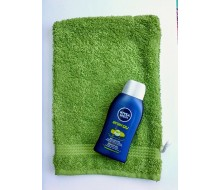 Washandje Fairtrade groen + Nivea Men mini douchegel (50 ml)