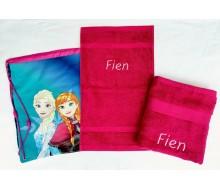 Zwemset Frozen (kleur handdoeken naar keuze)