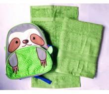 Zwemset met rugzakje Skip Hop Sloth/luiaard (kleur handdoeken naar keuze)